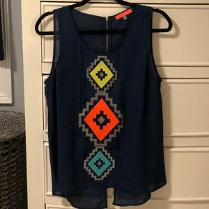 Colorful Top for night out!